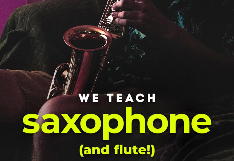 Saxophone and Flute Lessons